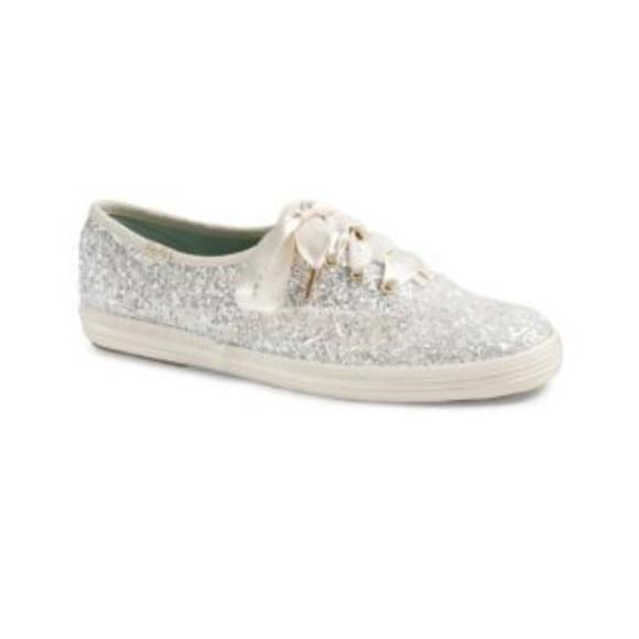 6386477cccda kate spade Shoes -  NWOT  Kate Spade x Keds cream sparkly shoes